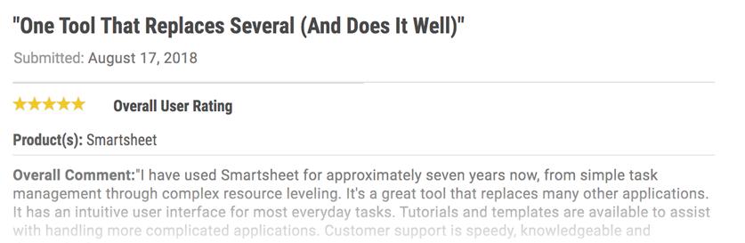 Smartsheet Review 1