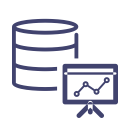 icon for data warehouse market
