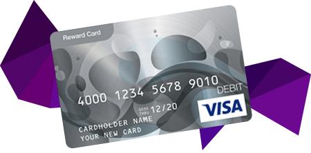 VISA Reward Card