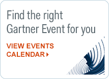 View all Gartner events