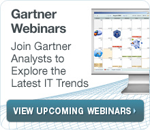 Gartner Webinars