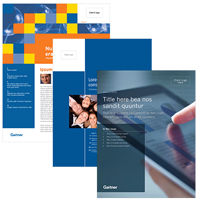 Gartner Custom Newsletters